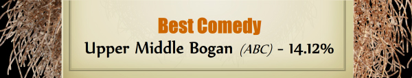 Best Comedy - RUNNER UP: Upper Middle Bogan (ABC) - 14.12%