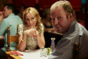 Peter Helliar and Lisa McCune in It's a Date