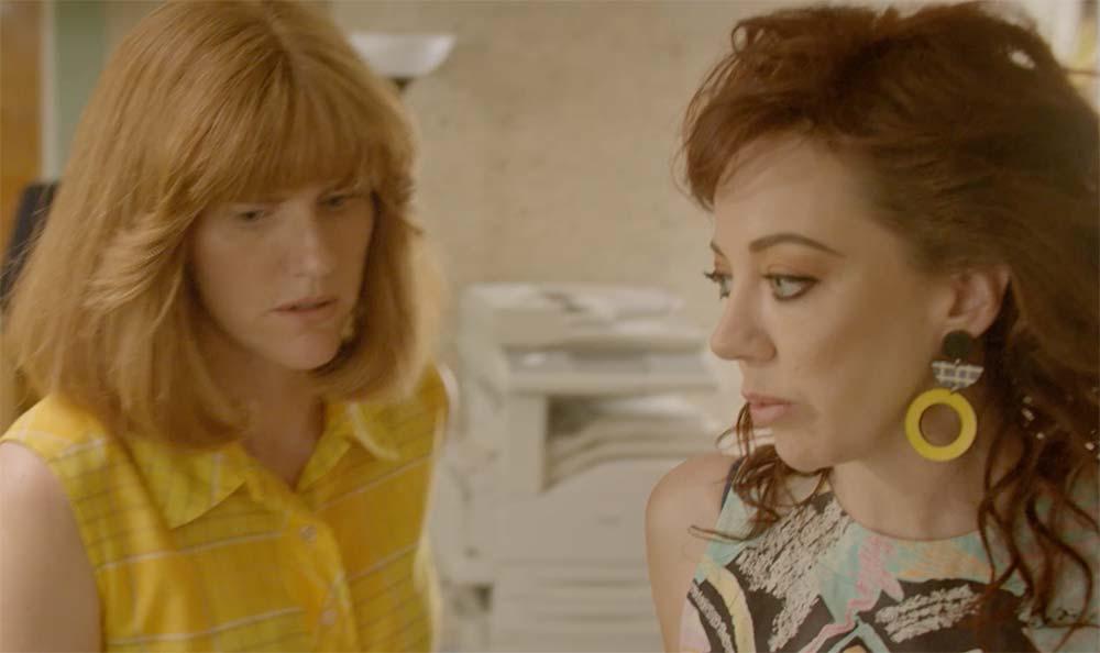 Sarah Kendall and Diana Morgan in 'Frayed'