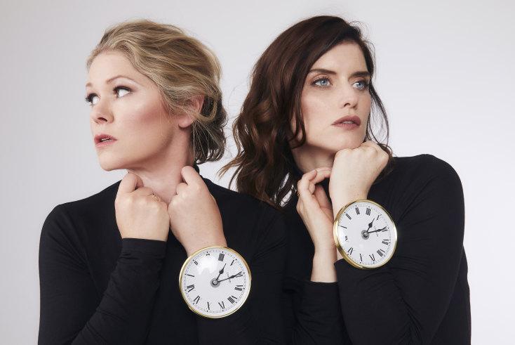 Kate McLennan and Kate McCartney, stars and writers of Slushy